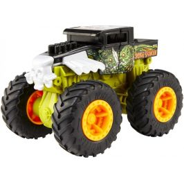 Hot Wheels Monster trucks Velká srážka Bone Shaker zelený