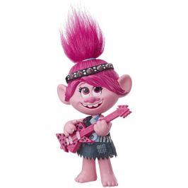 Hasbro Trolls zpívající figurka Poppy s rockovým příslušentvím