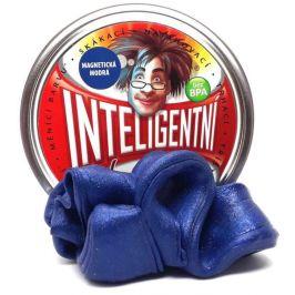 Intelig.plastelína Magnetická modrá