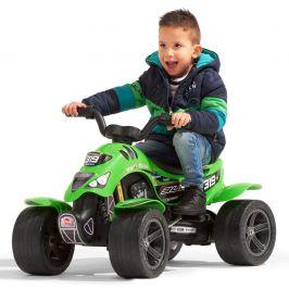 Falk Čtyřkolka šlapací Bud Racing zelená