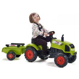 Falk Traktor šlapací Claas Arion 410 s valníkem