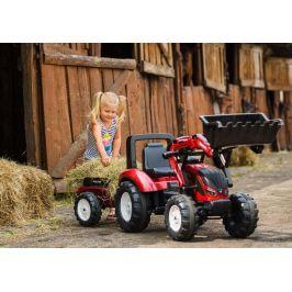 Falk Traktor šlapací Valtra 54 s přední lžící a valníkem