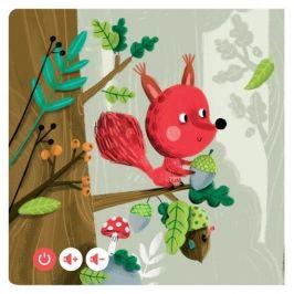 Albi KOUZELNÉ ČTENÍ Minikniha pro nejmenší - Zvířátka v lese