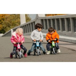 Teddies Odrážedlo Funny Wheels New Sport 2v1 šedá - zánovní