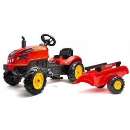 Falk Traktor šlapací Xtractor červený