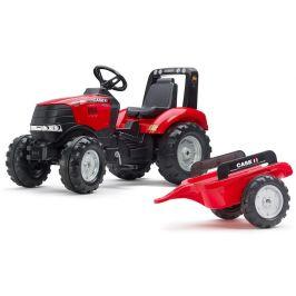 Falk Traktor šlapací Case IH s valníkem