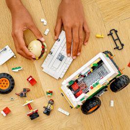 LEGO Creator 31104 Hamburgerový monster truck - rozbaleno