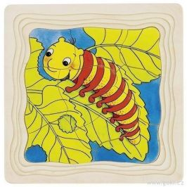 Goki Motýl - vývojové vrstvené puzzle