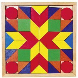 Goki Dřevěný hlavolam – Mozaika II