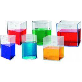 Montessori pomůcky Tvarované odměrky
