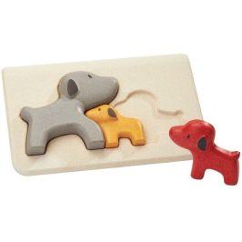 Plan Toys Puzzle rodina - psi