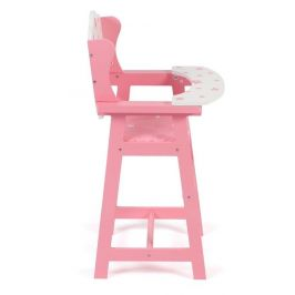Bayer Chic Jídelní židlička hvězdičky růžové