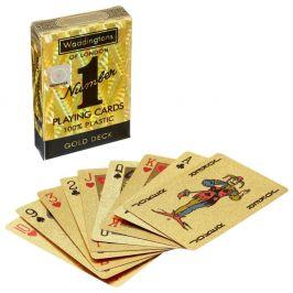 Winning Moves Waddingtons Hrací karty: No. 1 Gold