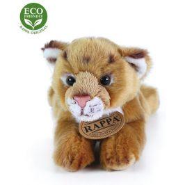 Rappa Plyšové lvíče ležící, 17 cm, ECO-FRIENDLY