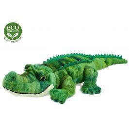 Rappa Plyšový krokodýl, 34 cm, ECO-FRIENDLY