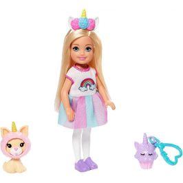 Mattel Barbie Chelsea v kostýmu Jednorožec