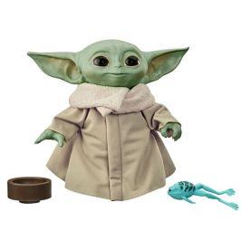 Star Wars Baby Yoda plyšová mluvící figurka
