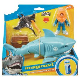 Fisher-Price Imaginext Žralok s doplňky Rejnok