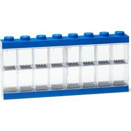 LEGO Sběratelská skříňka na 16 minifigurek - modrá