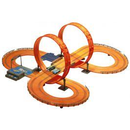 Hot Wheels Závodní dráha 683 cm s adaptérem - rozbaleno