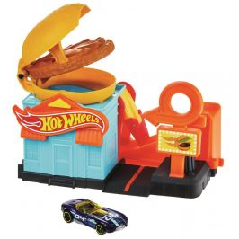 Hot Wheels City Postav město - Obchod s hamburgery