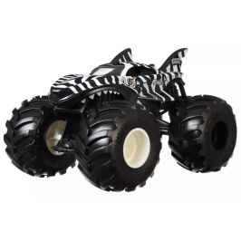 Hot Wheels Monster trucks Velký truck Shark wreak