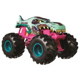 Hot Wheels Monster trucks Velký truck Zombie wrex