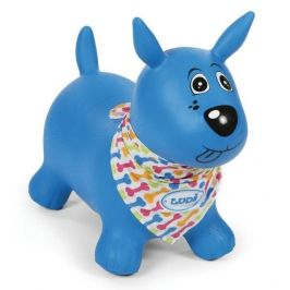 Ludi Skákací pes modrý - rozbaleno