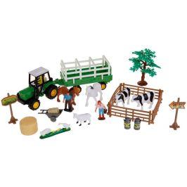 Alltoys Farmářský set v kufříku - vlek na balíky