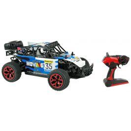 Teddies Auto RC buggy modré plast 28cm s dálkovým ovládáním - použité