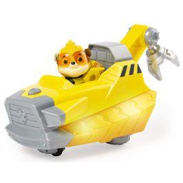 Spin Master Tlapková patrola Svítící vozidlo hrdiny se zvuky - Rubble