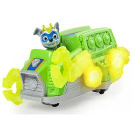 Spin Master Tlapková patrola Svítící vozidlo hrdiny se zvuky - Rocky