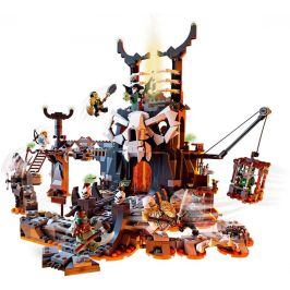 LEGO Ninjago 71722 Kobky Čaroděje lebek - rozbaleno