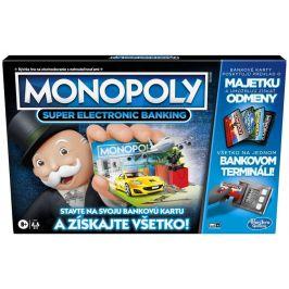 Hasbro Monopoly Super elektronické bankovnictví - SK