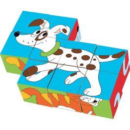 Woody Kubus 3x3 Zvířátka v barvách