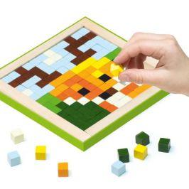 CUBIKA 14897 Pixel III zvířata - dřevěná mozaika 250 kostiček