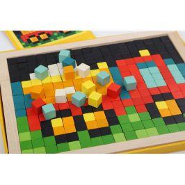 CUBIKA 14903 Pixel IV auta - dřevěná mozaika 400 kostiček