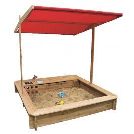 Woody Dřevěné pískoviště s kuchyňkou - zánovní