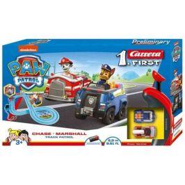Carrera Autodráha FIRST - 63031 PAW Patrol Chase a Marshall Track Patrol - rozbaleno