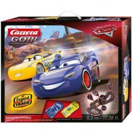 Carrera Autodráha GO 62446 Cars 3 - Radiator Springs - zánovní