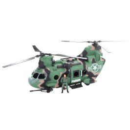 Lamps Vojenská sada s vrtulníkem na baterie