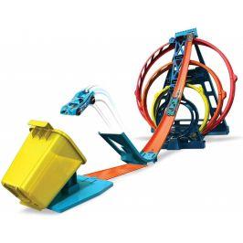 Hot Wheels Track Builder Trojitá smyčka - rozbaleno
