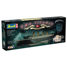 Revell Gift-Set 05715 - R.M.S. Titanic - 100th anniversary edition - rozbaleno