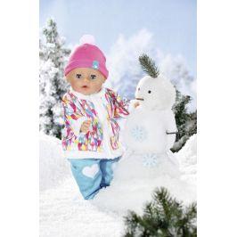 BABY born Soft Touch, holčička v zimním oblečení, 43 cm