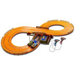 Hot Wheels Závodní dráha 286 cm s adaptérem