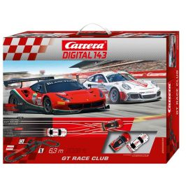 Carrera Autodráha D143 40039 GT Race Club