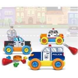 MaDe Malý mechanik plastový Junior - policie