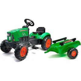 Falk Traktor šlapací SuperCharger zelený s valníkem