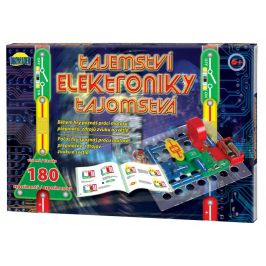 Teddies Tajemství elektroniky 180 experimentů - rozbaleno