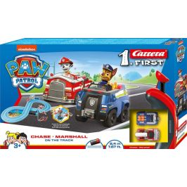 Carrera Autodráha FIRST - 63033 PAW Patrol Chase a Marshall On the track - zánovní